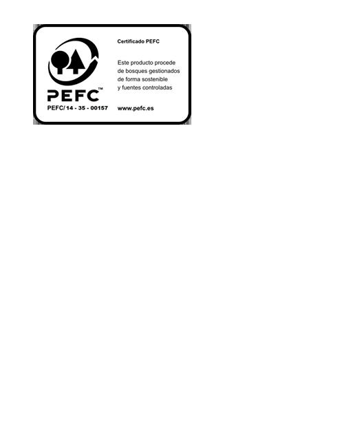 alicen certificado PEFC